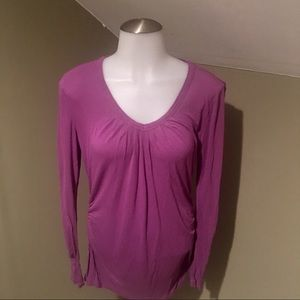 Simply Vera Women's Purple Long Sleeve Top/SZ S
